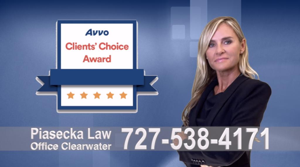 Avvo, Clients, Choice Award, Reviews, Opinie, Agnieszka, Aga, Piasecka, Polish, Lawyer, Attorney, Opinie klientów, Best, Najlepszy, Polskojęzyczny, Prawnik, Polski, Adwokat, Florida, Floryda, USA 9